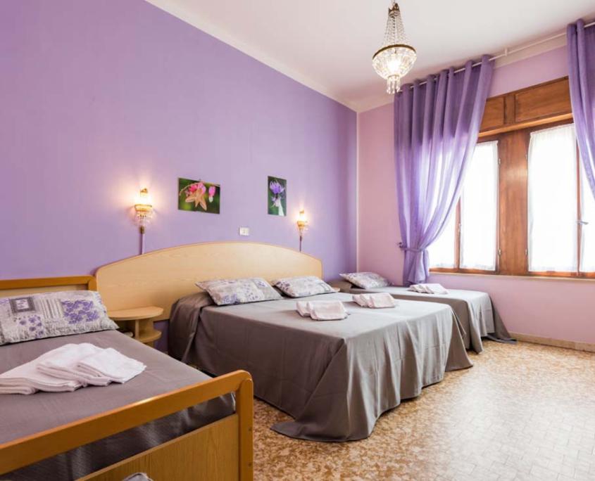 Camera Hotel Stefania 3 stelle Cesenatico