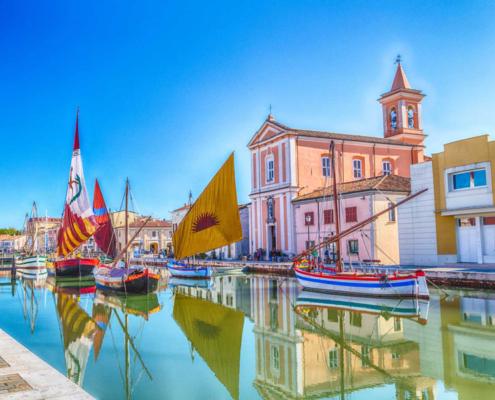Porto Canale Leonardesco Cesenatico
